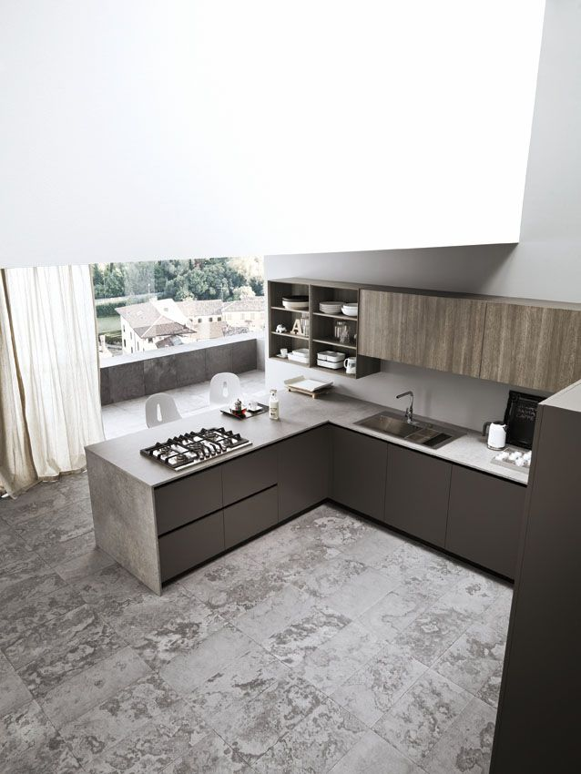 Fitted Kitchen ARIEL 04 By Cesar Arredamenti