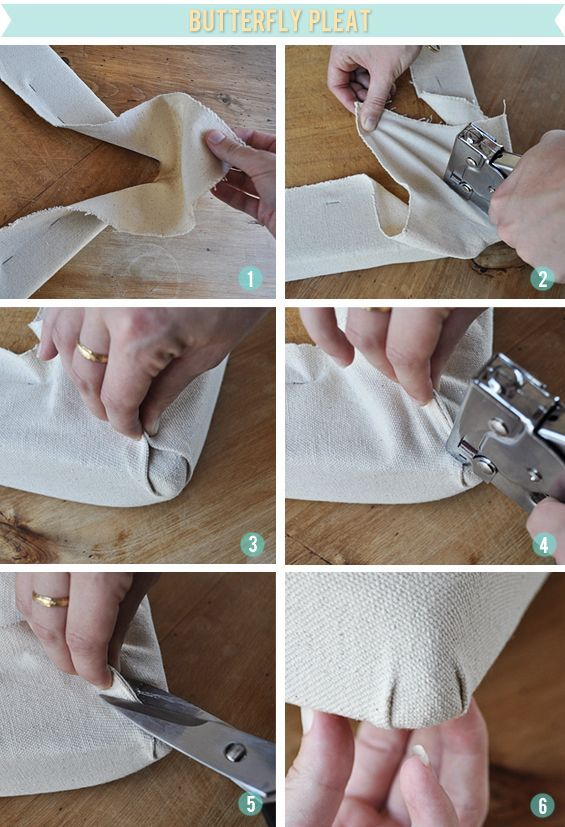 How To Upholster Chair Corners ~~~ This Tutorial Details How To Upholster A  Drop