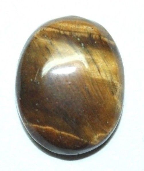 Natural 100%Tiger Eye Gemstone Heart Shap Beautiful India Hand Mead  20.CT #Unbranded