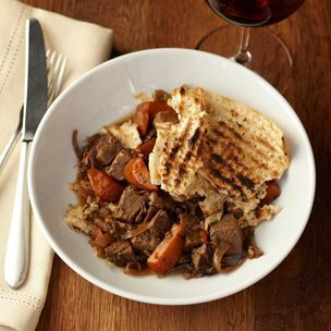Brisket with Spiced Coffee and Charoset Juice -- Recipe by Chef Michael Solomonov, Zahav, Philadelphia