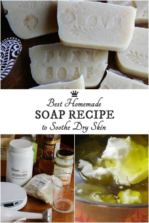 This homemade soap recipe is for anyone suffering from dry or sensitive skin who wants a gentle, soothing soap, free from fragrances and preservatives. I'll also walk you through the basic soapmaking process so you can see if this will be your new hobby.