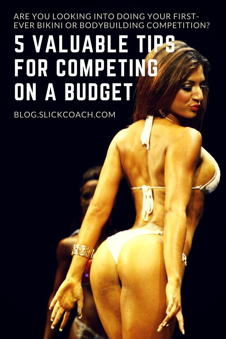 Are you thinking about doing your first-ever bikini or bodybuilding competition? You heard and read so often that it's so expensive and that you have to spend thousands of pounds/dollars to get on stage and look good?  #bodybuilding #competing #bikini #bu