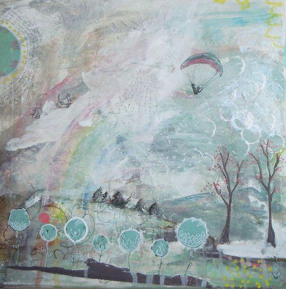 Orignal Painting  Before the Rain  Original Art  by SiobhanJordan, €440.00