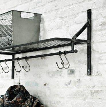 Raw Iron Shelves