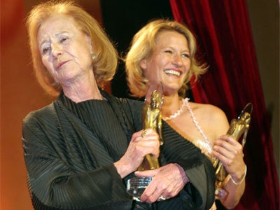 Rosemarie Fendel and Suzanne von Borsody, her daughter