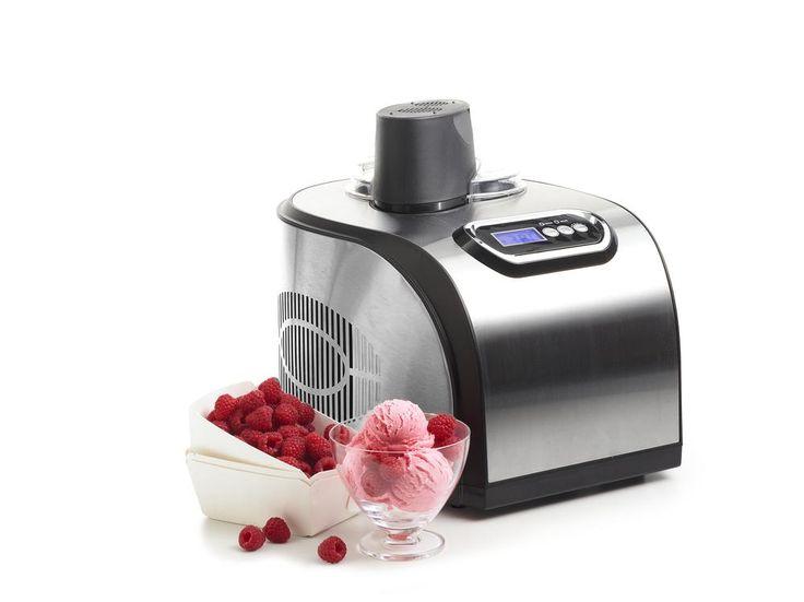 Für bis zu 1 l #Eiscreme in nur ca. 40 Minuten! Profi- #Eismaschine mit Kompressor für €199,00 bei #Tchibo