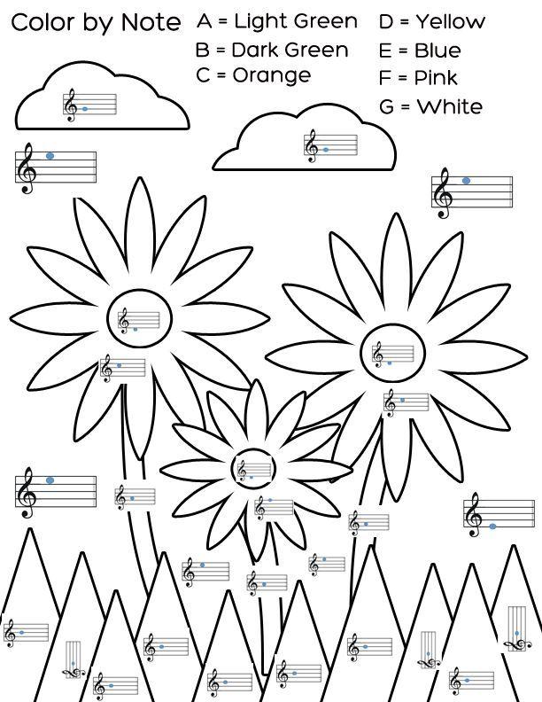 14 best beginner music worksheets images on Pinterest