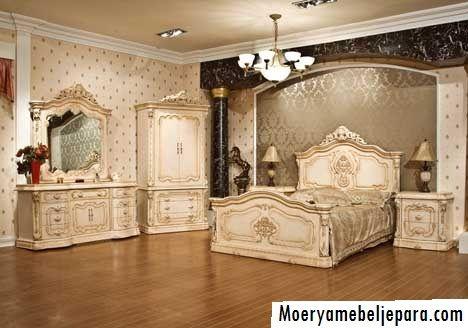 perabotan set kamar tidur mewah
