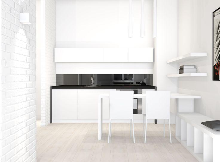 35m2 apartment | small space | Interior Design Ideas by Magda Piekarska