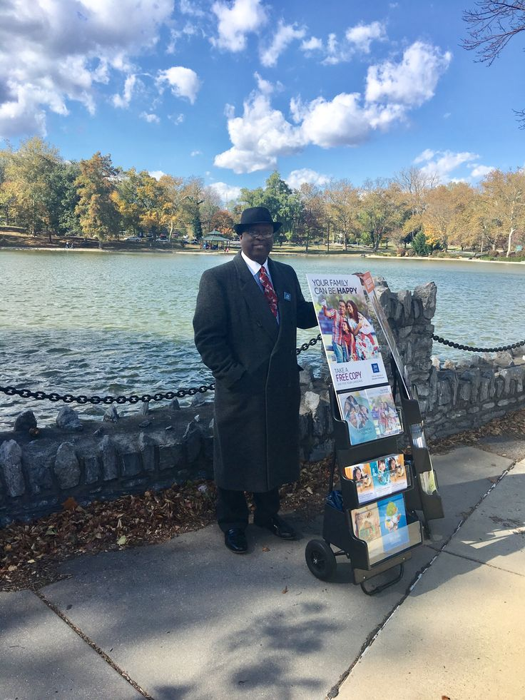 Public Witnessing at City Park in Hagerstown, Md USA