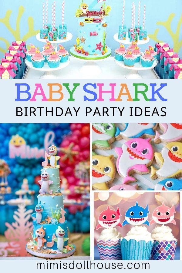 Adorable Fun Baby Shark Birthday Ideas Shark Themed Party Shark Birthday Shark Theme Birthday