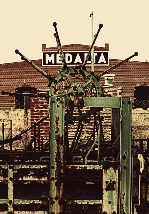 Machinery at Medalta Potteries // Photo Editing Luke