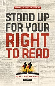 2016 Banned Books Week Poster - Events and Celebrations - New Products - Posters - Products for Young Adults - ALA Store