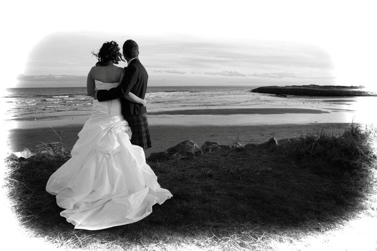 Fantastic Photo opportunities on Carnoustie Beach