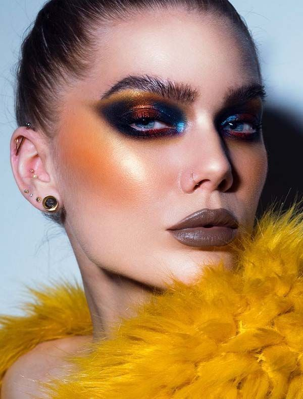 25 Outstanding Beauty Trends Eyes Makeup Ideas For 2019 Absurd Styles Fashion Editorial Makeup High Fashion Makeup Creative Makeup Looks