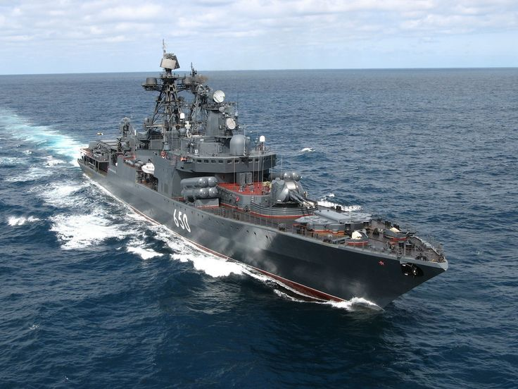 Russian Udaloy-class destroyer [1600 × 1200] - Imgur