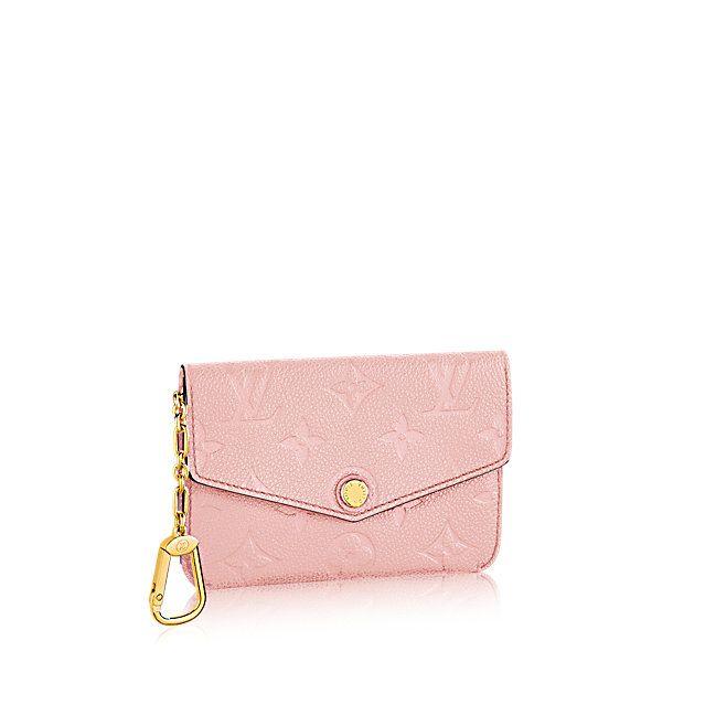 Key Pouch - Monogram Empreinte Leather - Small Leather Goods   LOUIS VUITTON