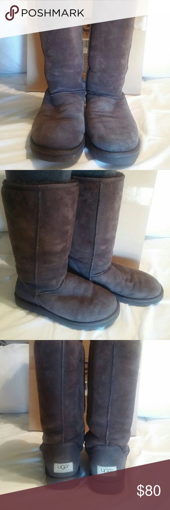 Ugg classic tall boots Ugg classic tall, minimal wear, originally bought from Victoria's secret UGG Shoes Winter & Rain Boots
