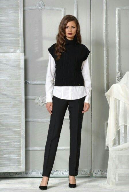 Костюм женский тройка (жилет, блуза, брюки) VesnaLetto