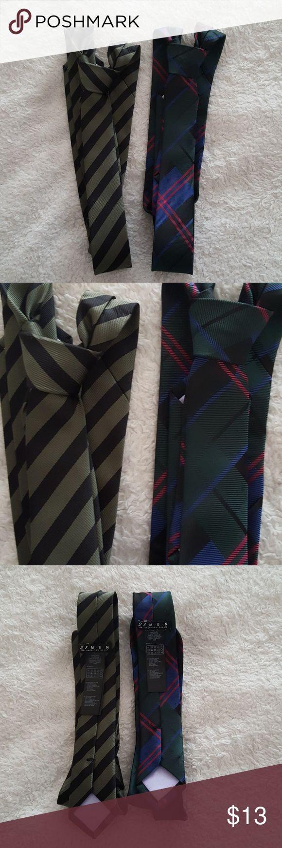 [JUST ADDED] Forever 21 Men Slim Tie Bundle Forever 21 Men Slim Tie Bundle. Striped designs. New without tags. 100% Polyester. 21men Accessories Ties