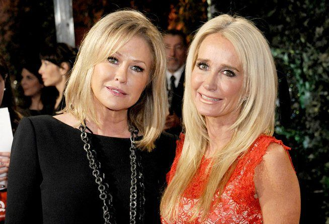 Kim Richards To Move In With Sister Kathy Hilton After Rehab