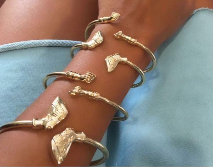 Nefertiti & Fist Pump Bangles