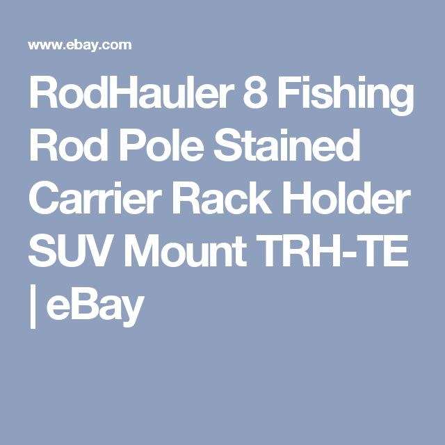 1000 ideas about fishing rod rack on pinterest rod rack for Fishing rod holder for suv