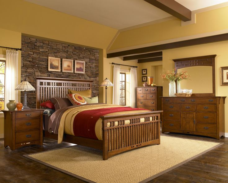 Charmant { This Craftsman Style Bed Is Lovely! I Would Love To Snuggle In It!