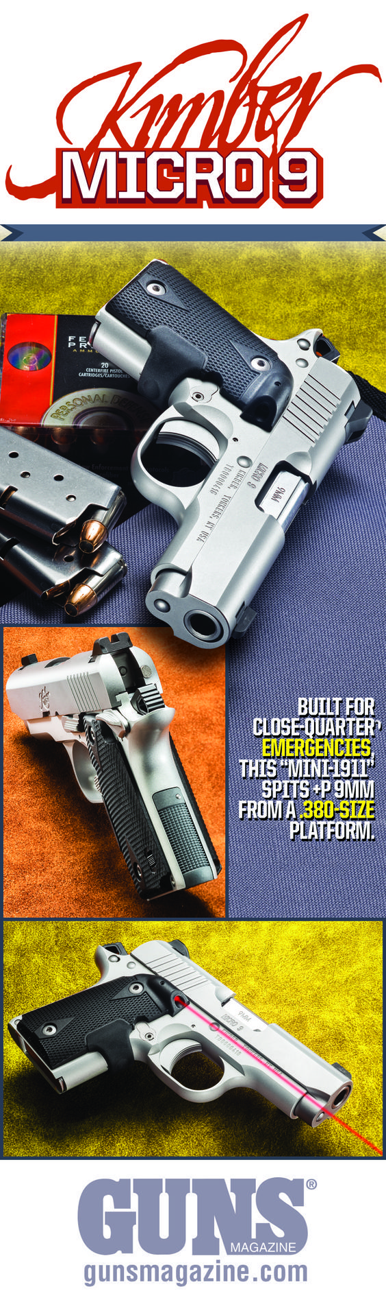 """Kimber Micro 9 