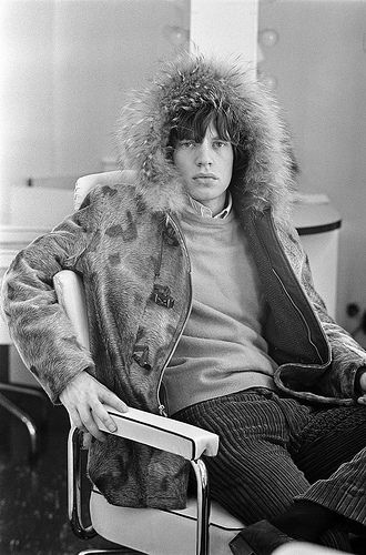 and we kick em to the curb unless they look like Mick Jagger