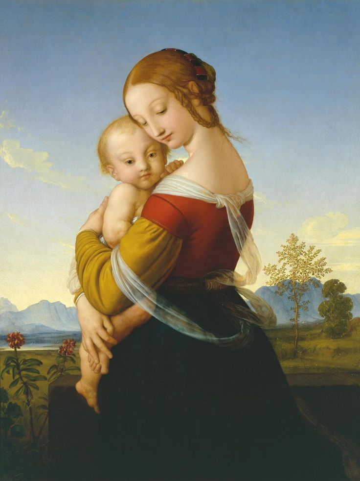 William Dyce Madonna and Child c.1827–30 (JPEG Image, 1151×1536 pixels) - Scaled (37%):
