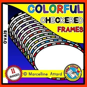 #FREE #CHECKERED #FRAMES #BORDERS #CLIPART