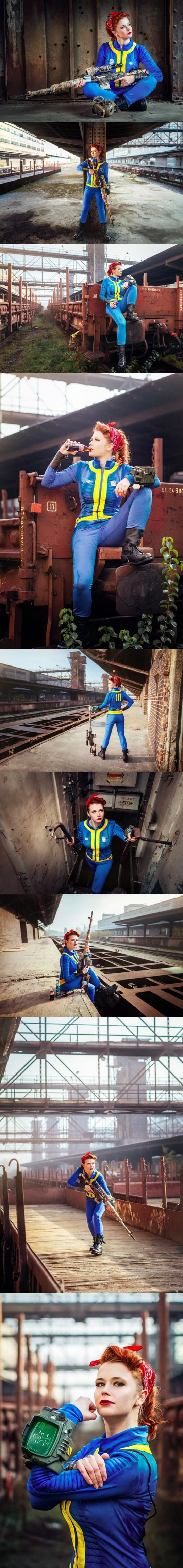 Someone is already doing Fallout 4 cosplay. (Cosplayer: Baty Alquawen)                                                                                                                                                                                 Plus
