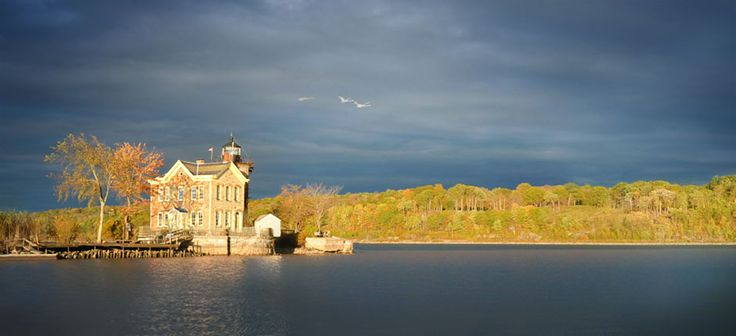 Saugerties Lighthouse, an 1869 landmark beacon on the Hudson River that stands proudly as a Living Museum and a renowned Bed & Breakfast.