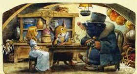 Серия книг иллюстратора Тони Вульфа