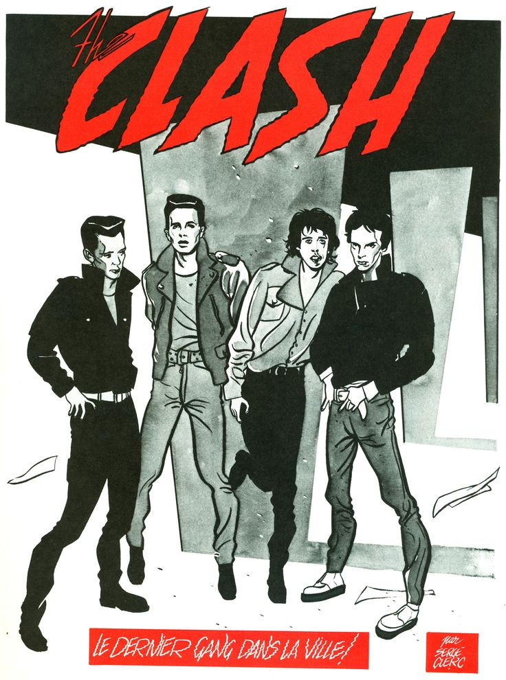 Concert Posters, The Clash, Rock