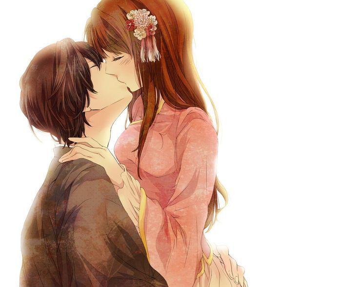 Beautiful Anime Kisses Kiss Passion Love Beauty