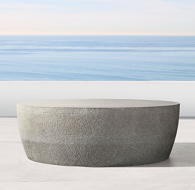 Vetro Round Coffee Table Round Coffee Table Outdoor Coffee