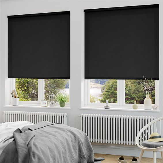 Best 25 black blinds ideas on pinterest modern blinds for Shades for bedroom windows