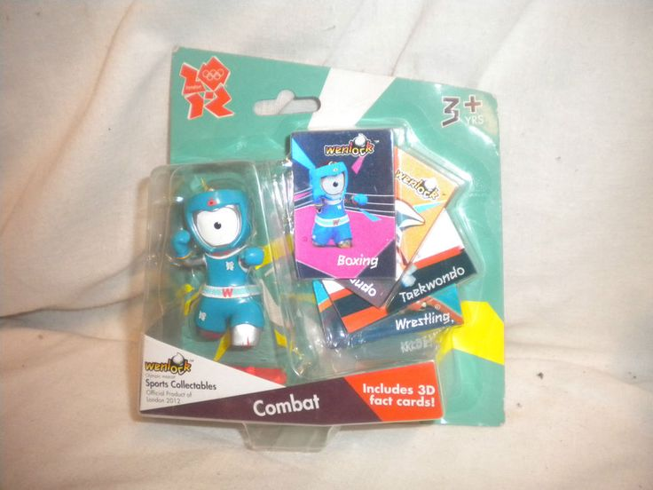 Olympic COLLECTABLE London 2012 Mascot WENLOCK - Combat with 3D Cards  | eBay