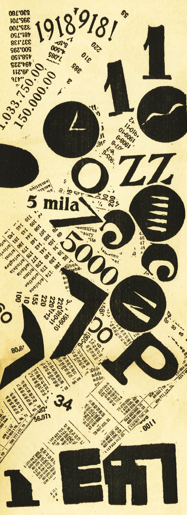 "FILIPPO TOMMASO MARINETTI. ""Parole in Libertá"". 1919."