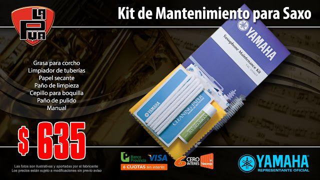 La Púa San Miguel: Kit de Mantenimiento YAMAHA para Saxo