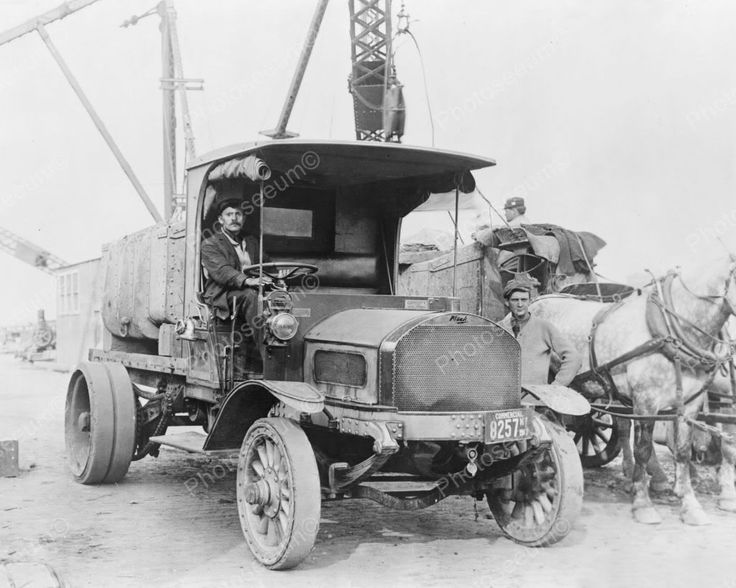 Mack Truck Antique Vintage 1910s Reprint 8x10 Old Photo