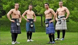 Килт юбка для сауны мужской