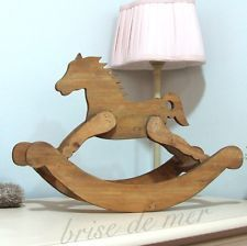 винтажный Shabby Chic деревянные Лошадь-качалка буфет dressor свадебный стол декор