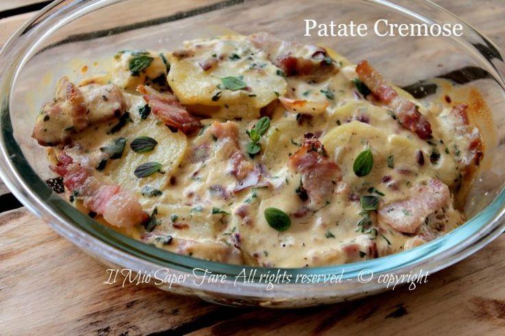 Patate cremose ricetta con patate facile | Il Mio Saper Fare