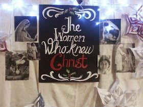 Freckles 'n' Family: The Women Who Knew Christ - Relief Society Christmas Evening 2014