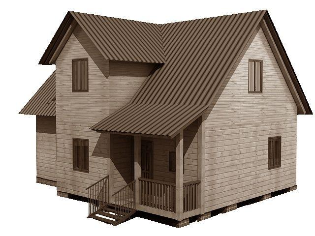 Готовый проект каркасно-щитового дома 7X9 от Строительной компании «ДОМ МЕЧТЫ»