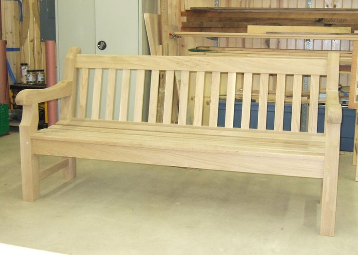 Free English Garden Bench Plans Woodworking Projects Plans