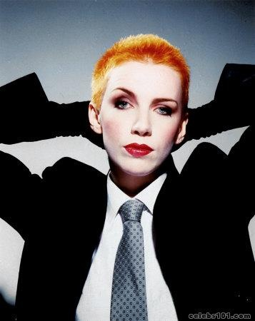 """Annie Lennox - (93/100)  Born December 25th, 1954  Key Tracks """"Sweet Dreams (Are Made of This),"""" """"Here Comes the Rain Again"""" (Eurythmics), """"Why"""" (solo)  Influenced Beth Gibbons, Sinéad O'Connor, Duffy    Read more: http://www.rollingstone.com/music/lists/100-greatest-singers-of-all-time-19691231/annie-lennox-20101202#ixzz2W32rn2kL  Follow us: @Rolling Stone on Twitter 